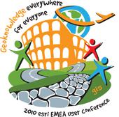 Logo Esri EMEA User Conference 2010