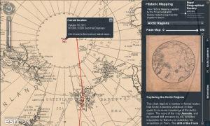 Visor Esri Online: Expedición al Ártico