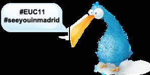 #EUC11 #seeyouinmadrid