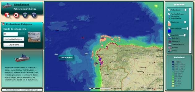 Aplicación de Navegación de Barcos desarrollada por Laura Alemani
