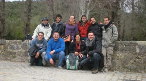 Alejandro y el equipo (casi al completo) de Orgateam.
