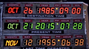 Back to the future--time circuit board