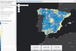 Esto es lo maravilloso de ArcGIS: una vez tienes los datos, crear aplicaciones espectaculares es una cuestión de minutos.
